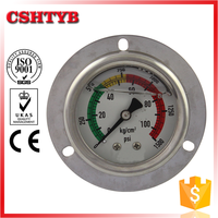 China professional manufacturer bourdon tube gauges