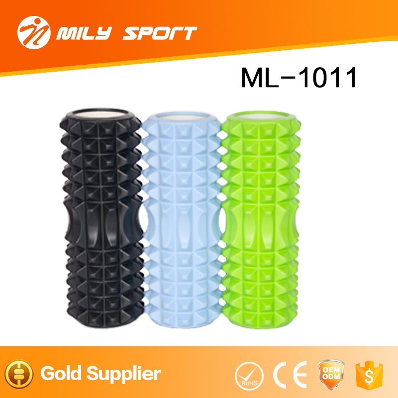 Extreme Muscle Foam Roller High Density Grid Provides Deep Massage For Tight Muscles For Pilates, Exercising, Yoga, Running,