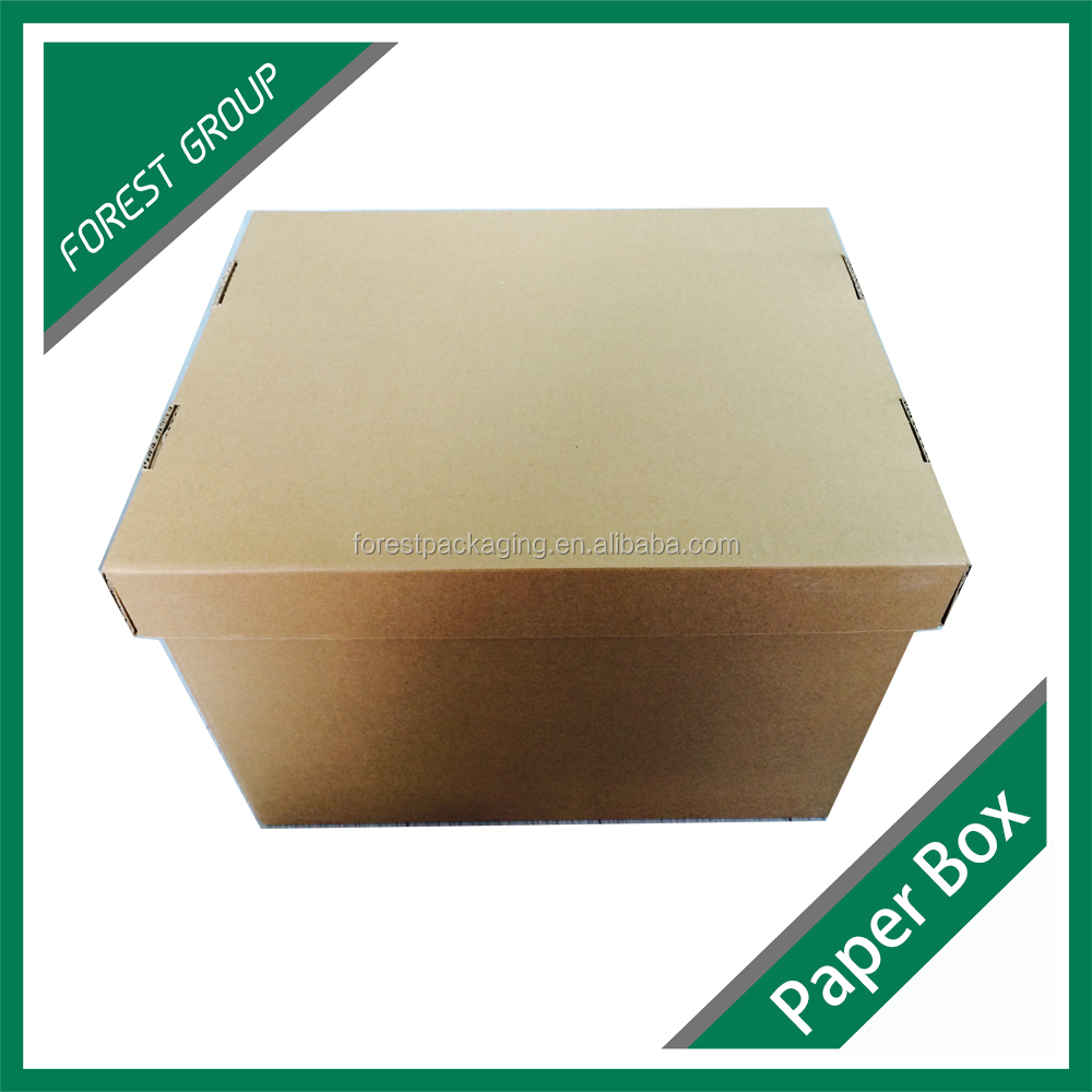 Custom Brown 5-Ply Corrugated Outer Shipping Carton Box