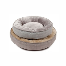 Guaranteed quality soft and warm round fashion cozy cheap pet bed for dogs