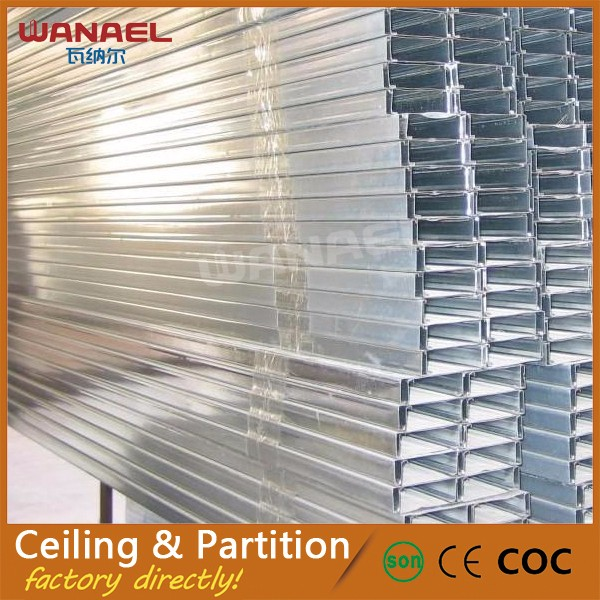 Wanael light steel galvanized stainless steel false suspended ceiling