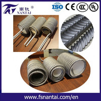 For Heat Exchanger Coil Stainless Steel Twisted Tubing