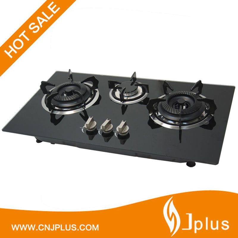 JP-GCG310H Best flame 3 burners energy saving cooking stoves built in gas hob