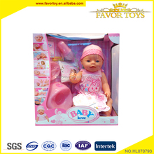 Most popular eco-friendly funny vinyl lovely baby doll toy