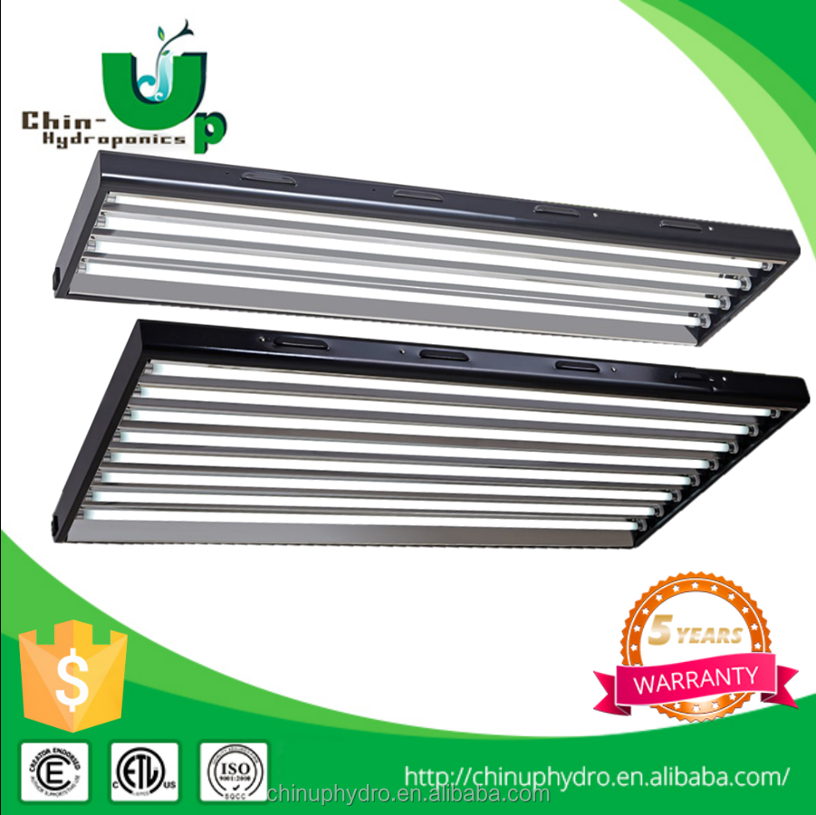 Hydroponics grow light t5 fluorescent lighting fixture
