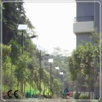 ultra bright integrated LED solar outside light