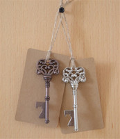 Key bottle openers wedding gift