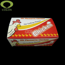 High quality cheap roast chicken paper box packaging
