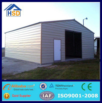 prefab portable steel structure warehouse plant small factory building