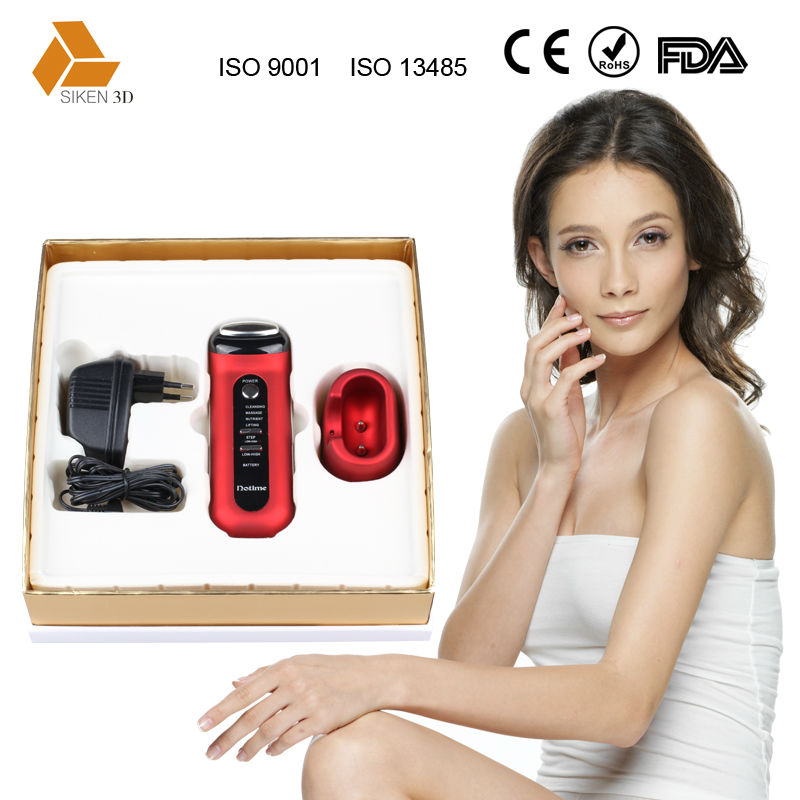 4-in-1 galvanic facial massager cosmetic products equipment CE &ROHS approval