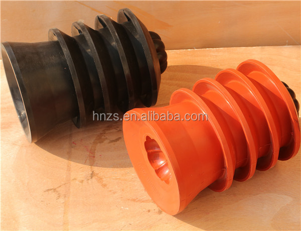 Oil Well Rubber Body Top and Bottom Cementing Plug