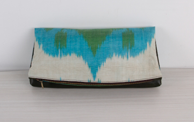 Ikat Bag - Hand Bag - Clutch Bag