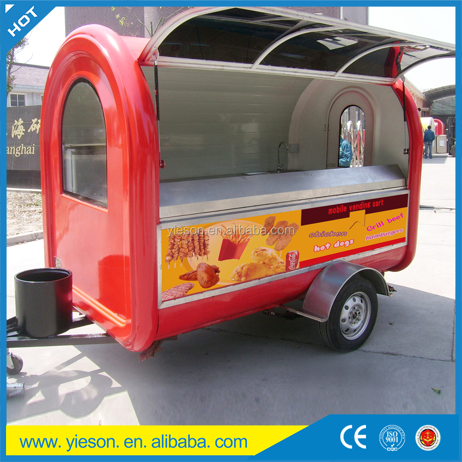 mobile food truck for sale mobile food cart for sale in the China