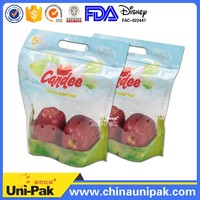 Desiny approval Supplier ziplock plastic fruit protection packaging bag/pouch