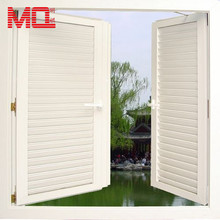 upvc louver window frames windows with built in blinds plastic clip