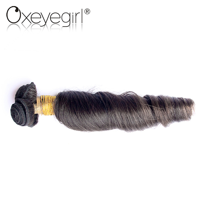 Top quality long lasting new style spiral curl human hair weaving