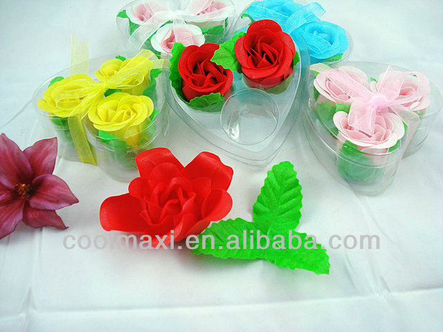 Rose Decoration flowers soap carve