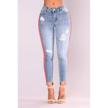 2018 new ripped sexy jeans denim jeans for women