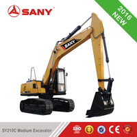 SANY SY210C Medium Excavator of Best Price Earth Mover For RC Hydraulic Excavator For Sale