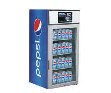 120L Glass Door Beverage Display Fridge Cooler with CE UL ETL RoHS SASO