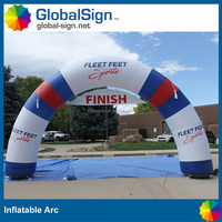 good quanlity pvc tarpaulin inflatable arch