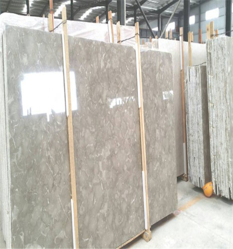 Heat insulation raised grain bosy grey marble for marble tiles and slabs