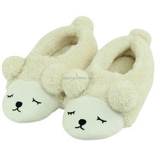 winter home slippers animal dance shoes ladies indoor shoes soft shoes