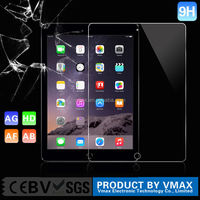 10 years supplier ultra smooth 9H for ipad air tempered glass screen protector OEM/ODM