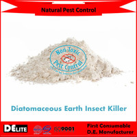 DElite Organic 300G/Bottle Fossil Shell Flour Pure Diatomite Powder Pesticides, Mites, Ants, Slugs,Bugs Killer
