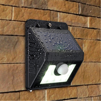Brand new solar wall lights home depot for Outdoor Waterproof