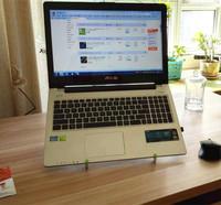 Universal 10-17 inch laptop holder desk stand foldable portable riser travel kit