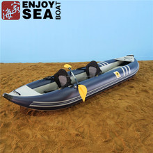 2 person inflatable PVC kayak fishing boats in 2017
