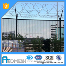 358 Prison Mesh Fence/ 358 welded wire mesh fence/Outdoor steel anti climb security fence