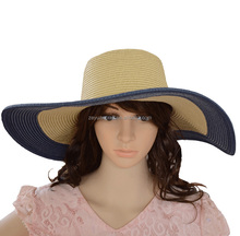 Liberality fashion panama cowboy straw hat made for beach hat