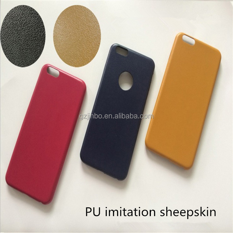 Smart phone imitation sheepskind leather mobile phone case for iphone 8, supereme leather cell phone case for iphone 7 plus