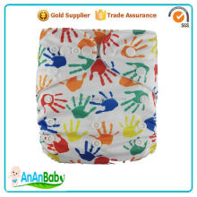 AnAnBaby Free Shipping Adjustable Digital Printing Baby Sleepy Nappy