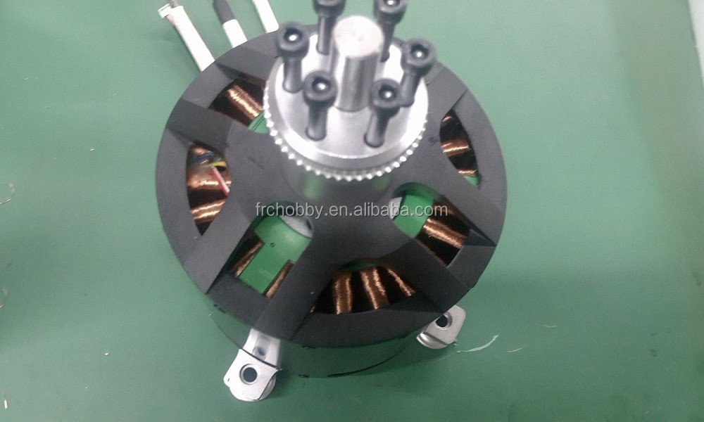 25KW Watercooling&Sensored Brushless Motor for electric motorcycle