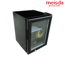Most popular glass door energy drink mini fridge for shop use