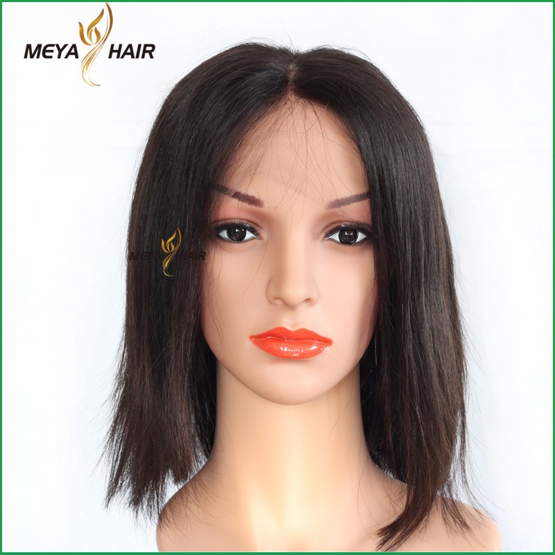 Wholesale lace front wig deep weave human hair afro wigs for black men