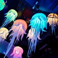 inflatable decorating jellyfish balloon