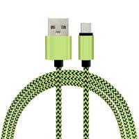 Nylon fabric braided slim usb cable, usb data cable, Colorful Fabric Nylon Braided usb cabel for mobile phone