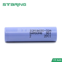 shenzhen factory 18650 battery Samsung 32a rechargeable li-ion battery cell samsung ICR18650 32A 3200mAh 3.7v E cig battery