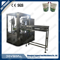 doypack filling and screw cap packing machine