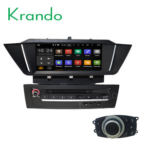 Krando Android 4.4.4 car radio gps dvd player for bmw x1 e84 2009-2013 navigation multimedia system WIFI 3G BT DAB+ KD-BW184