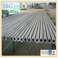 A6061 A6063 A6101 aluminium alloy welding seamless round oval square tube / pipe