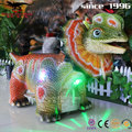 Kids ride variable speed dinosaur car for shopping mall