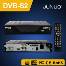 Set top box Suppliers JUNUO wholesale 3d 1080P full hd satellite receiver