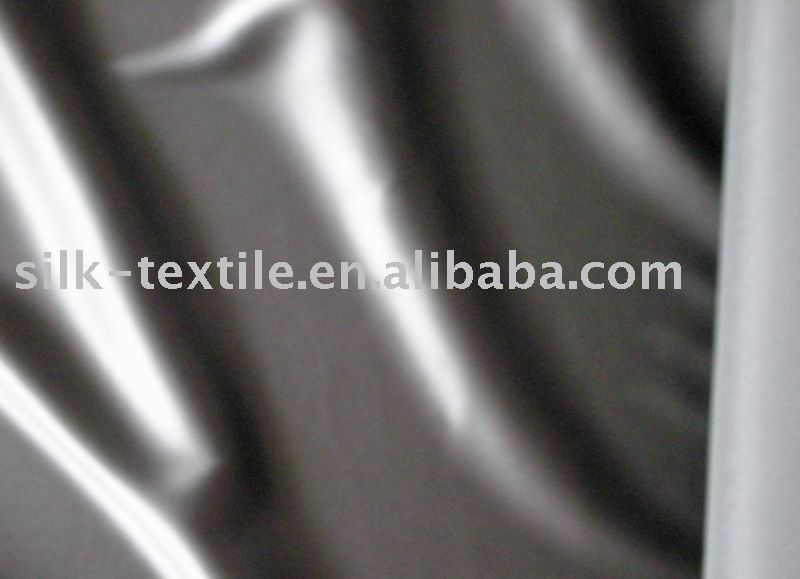 stretched silk fabric/spandex silk satin/stretched silk lycra satin