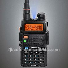 Baofeng dual band radio frequency transceiver with LCD display