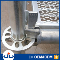 JET EN12810 Ringlock Construction Scaffold Platform